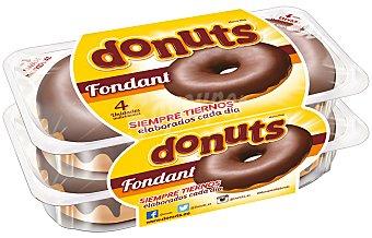 Panrico Donuts Fondant Envase 4 unidades, 220 g