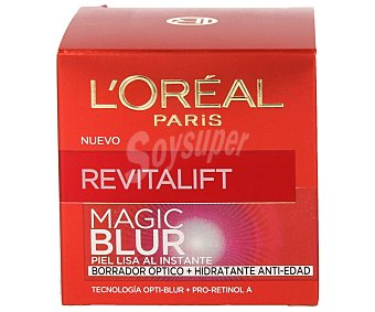 L'OREAL Revitalift Magic Blur Borrador óptico + hidratante anti-edad tarro 50 ml piel lisa al instante Tarro 50 ml