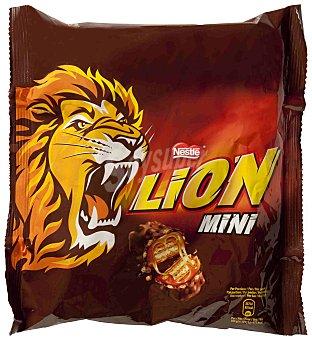 LION Barrita de chocolate-caramelo Paquete 250 g