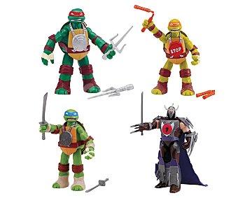 Giochi preziosi Surtido de figuras articuladas con sonidos Hand to Hand de las Tortugas Ninja 1 unidad