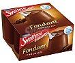 Fondant de chocolate de nestlé light Pack de 4 uds de 125 gr Sveltesse Nestlé