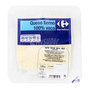 Carrefour Lonchas de queso de vaca 200 g
