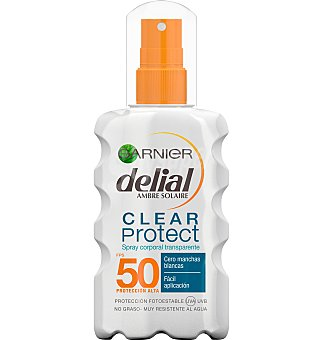 Delial Garnier Spray IP50 clear protect 200 ML