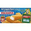 Varitas de merluza empanada (10 unidades) 300 g (10 unidades) Pescanova