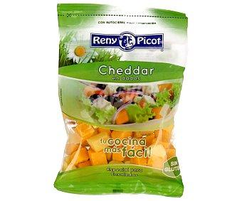 Reny Picot Queso cheddar en dados, especial ensaladas 150 gramos