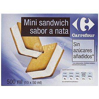 Carrefour Sandwich sin azúcar 10 ud