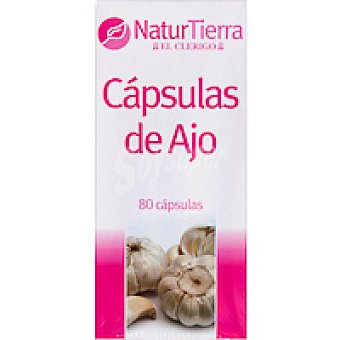 NaturTierra Perlas de ajo Caja 80 unid