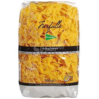 El Corte Inglés Pasta farfalle Envase 500 g