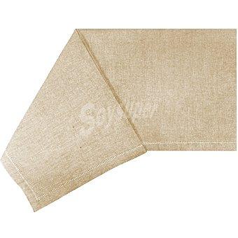 CASACTUAL Margarita mantel liso rectangular con vainica color beige