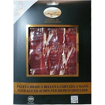 Sierra de Monesterio paleta ibérica de bellota cortada a mano estuche 100 g