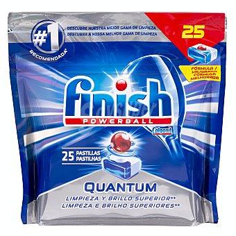 Finish Lavavajillas maquina pastillas quantum max Paquete 25 u