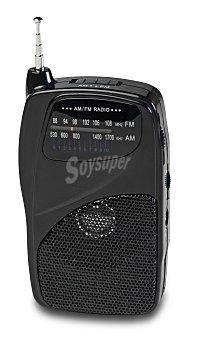 SELECLINE MR973 Radio de bolsillo 841641 (producto económico alcampo) con sintonizador de radio am/fm y altavoz incorporado