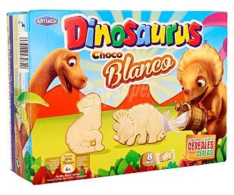 Artiach Galletas de cereales con chocolate blanco (forma de dinosaurios) Dinosaurus 340 gramos