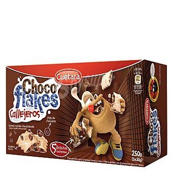 Cuétara Cereales Choco Flakes Callejeros Cuétara 250 g