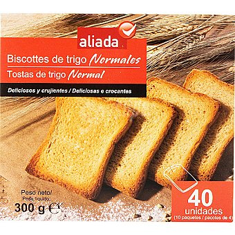 Aliada Biscotes de trigo Paquete 300 g