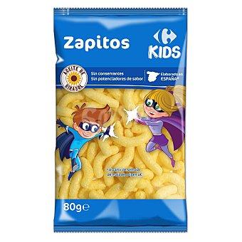 Carrefour Kids Aperitivo de maíz Zapitos sin gluten 80 g