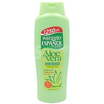 Instituto Español Gel de baño o ducha hidratante con aloe vera 100% natural Botella 1,25 l