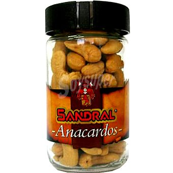 Sandral Anacardos salados Frasco 110 g