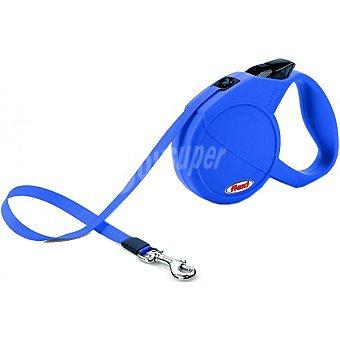 BIOZOO AXIS FLEXI COMPACT correa extensible color azul tamaño mediano 1 unidad