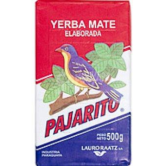 Pajarito Yerba mate tradicional Paquete 500 g