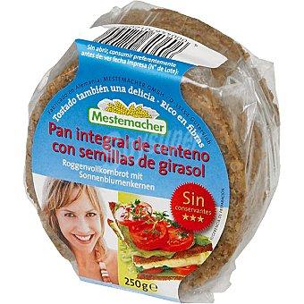 Mestemacher pan de semillas de girasol Paquete 250 g