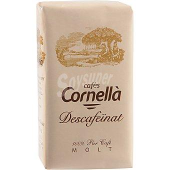 CORNELLA Cafe descafeinado molido Paquete 250 g