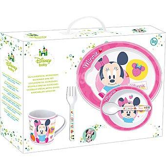 Stor Vajilla de 5 piezas de Minnie para microondas
