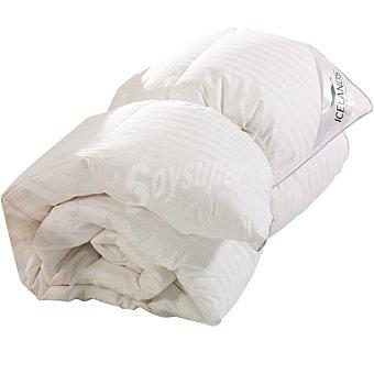 ICELANDS Relleno nórdico de plumón de oca en color blanco para cama 135 cm