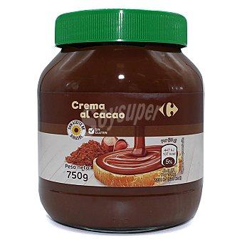 Carrefour Crema de cacao y avellanas sin gluten 750 g