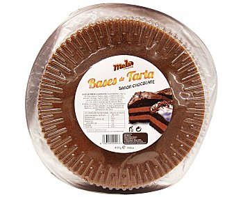 Mels Base de tarta de Chocolate 400 Gramos