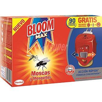 Bloom Insecticida volador eléctrico moscas y mosquitos aparato + recambio
