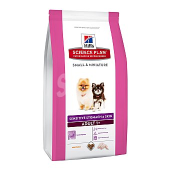 Hill's Science Plan Pienso para perros adultos small & miniature Hills Science Plan Sensitive Stomach & Skin pollo 1,5 Kg