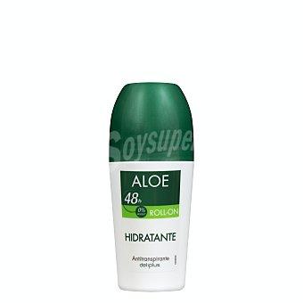 Deliplus Desodorante roll-on unisex cuidado aloe (verde) Bote 50 ml