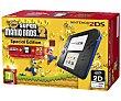 Cónsola Nintendo 2DS en Color negro/azul + Juego Super Mario Bros 2 pre instalado 1 Unidad Nintendo