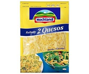 Hochland Queso rallado 2 quesos 200 Gramos