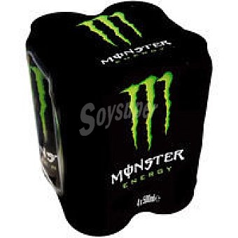 MONSTER GREEN Bebida energética Pack 4x50 cl