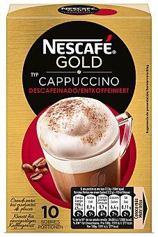 Nescafé Café cappuccino descafeinado 125 g