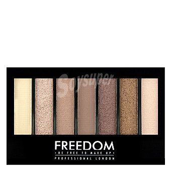 Freedom Paleta 7 sombras Pro Shade & Brighten Stunning Rose 1 ud