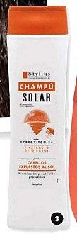 Deliplus Champu cabello solar stylius (tapon marron) *verano* Botella 400 cc