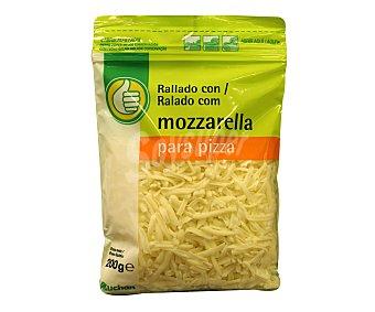 Productos Económicos Alcampo Queso rallado con mozzarella 200 gr