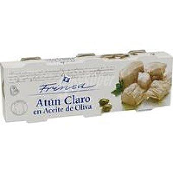 FRINSA Atún Claro en Aceite de Oliva Pack 3x92g