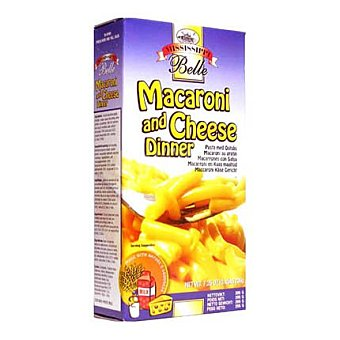 Mississippi Belle Preparado macarrón con queso 206 g