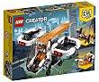 Juego de construcciones 3 en 1 con 109 piezas Dron de exploración, Creator 31071 lego  LEGO