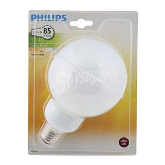 Philips Bombilla ahorradora globo 20W