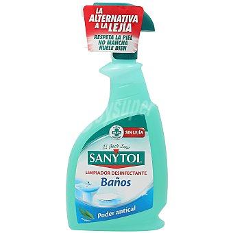 Sanytol Limpiador desinfectante baños Spray 750 ml