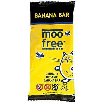 Moo Free Tableta de chocolate con plátano sin lactosa 100 g