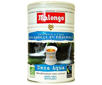 Malongo Café molido descafeinado biológico 250 Gramos