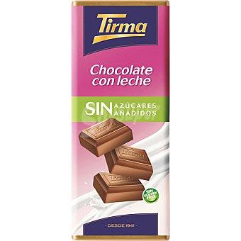 Tirma Chocolate con leche sin azúcares añadidos Tableta 125 g