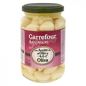 Carrefour Ajo en aceite de oliva 225 G 225 g