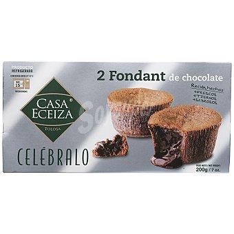 Casa Eceiza Fondant chocolate duetto 200 g